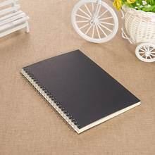 A5 B5 блокнот с спиральной катушкой для книг, с подкладкой, в горошек, пустая сетка, бумажный дневник, дневник, альбом для рисования, для школьн...(Китай)