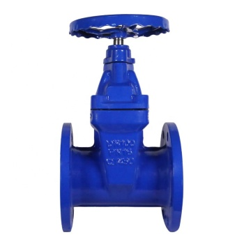 Bundor DIN F4 Flanged 4 Inch Gate Valve Manufacture Supplier With Prices Ductile Iron Sluice Valve with Resilient Seat