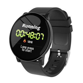 heart rate monitor blood pressure smartwatch waterproof sport android smart watch