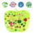 Patent New design Apple Shape Tummy Time Baby Water Play Mat for Kids Toddlers