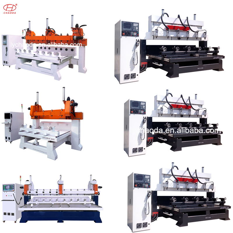 china mini woodworking  4 axis 1325 wooden making cnc wood milling  router machine