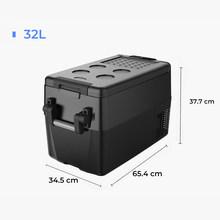 Автомобильный холодильник 50L Портативный холодильник 32L мини-холодильник 40L автомобильный компрессор морозильной камеры RV рыболовный куле...(Китай)