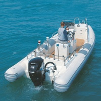 Ship engine boat 6.5meters RIB650AL Inflatable Rib Boat FOR Sale