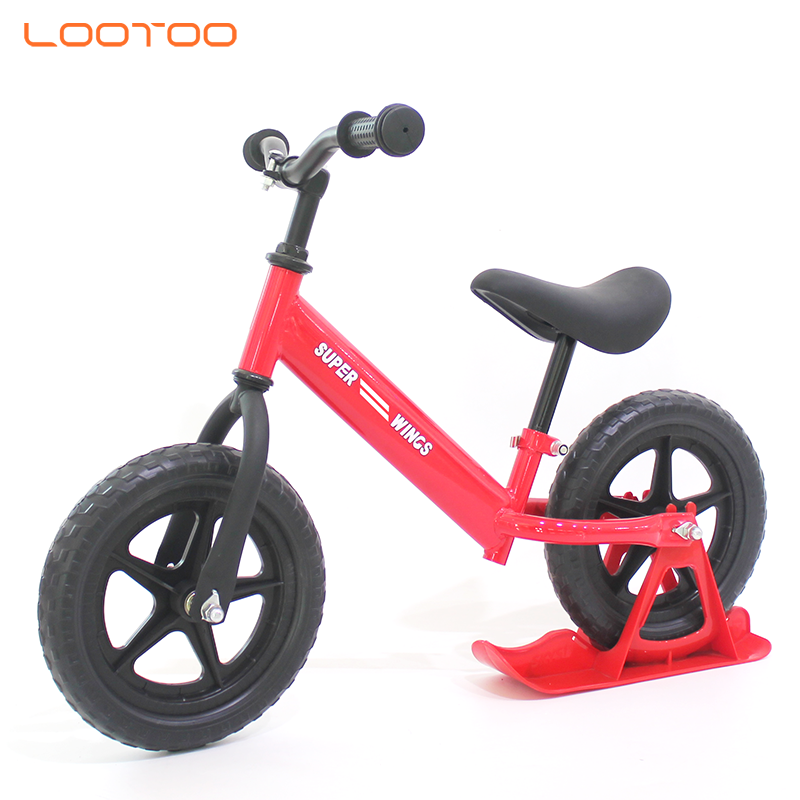 corporate promotional gift items EN71 2 wheel comfortable leather seat running bike children mini exercise bike for kids