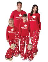 matching christmas family pajamas