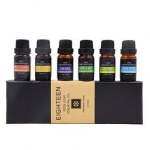 6 Packs Aromatherapie Ätherische <span class=keywords><strong>Öl</strong></span>e Private Label Geschenk Set 10ml Lavendel <span class=keywords><strong>Öl</strong></span> für Diffusor Entspannung und Beruhigende