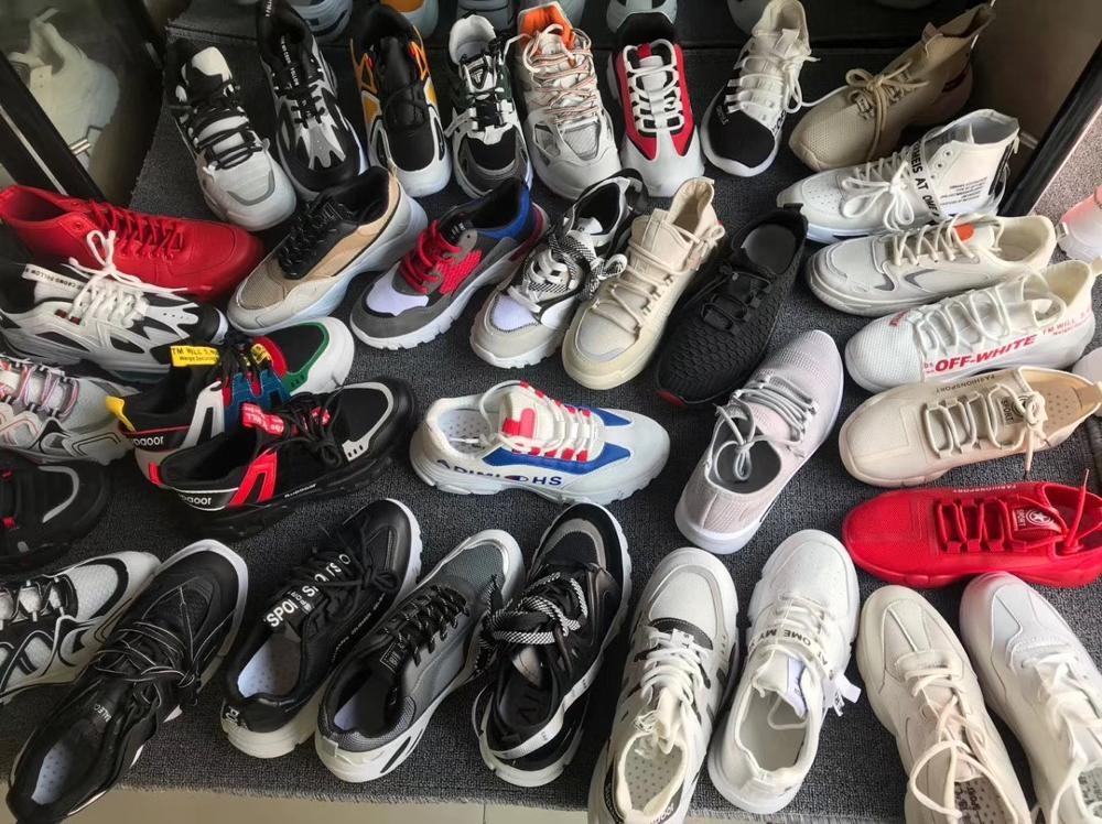 GZY Fashion Breathable Comfort Men's Shoes Sale Wholesale Flat Shoe shoes machine stock