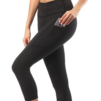 OEM yoga sport pants young girls in yoga pants with pockets