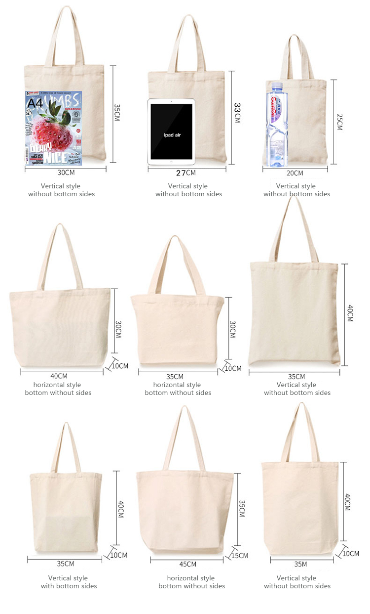 Shopping Bag Japanese Letter Print Simple School Book Storage Fashion Black Tote Bag