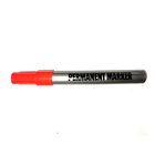 Plastic Permanent Marker Pen Black Permanent Marker Pen Permanent Waterproof Marker Pen