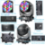 wholesale led light bar night club bee eye zoom effect 19pcs 40W rgbw 4-in-1 led moving head led single control with dmx