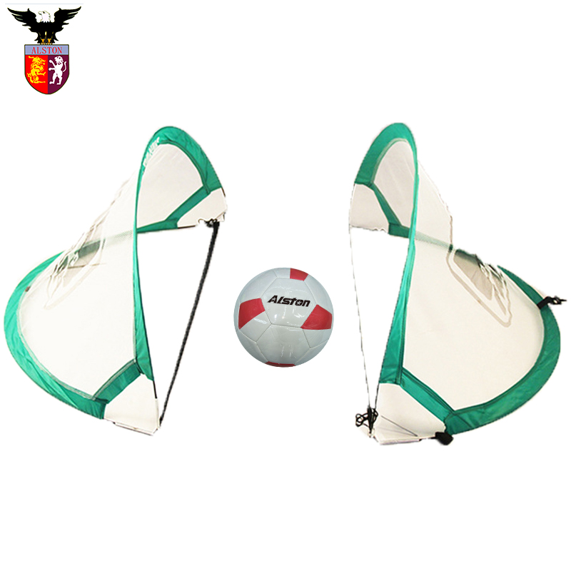 Цель + футбольный костюм дефлированный футбол портативный гол мяч игра для ребенка
