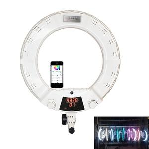 Yidoblo AX-480DII selfie ring light 18''app control bluetooth mode  makeup Video Chat ring light Youtube light