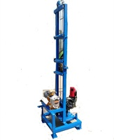 Top quality mini portable deep water well drilling rig rigs for sale QT-80