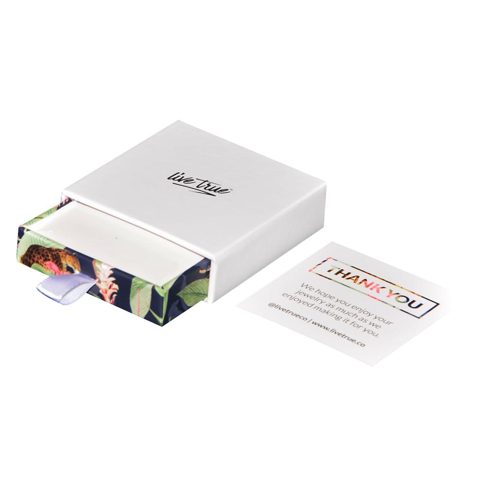 Personnalisé Imprimé Luxe Mat Rose De Bijoux En Carton Dur tiroir Cadeau Boîte avec Sac pour Collier et D'emballage de Montre