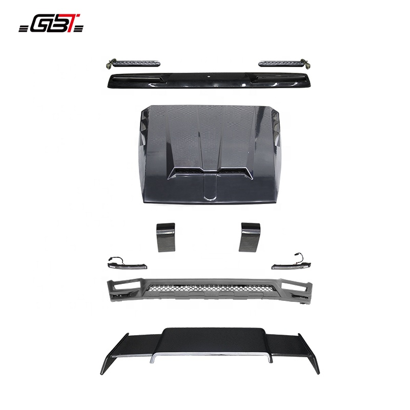 GBT body kit include front rear bumper for Mercedes Benz G63 W464 B Model