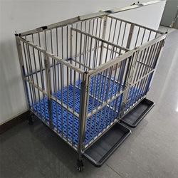 Roestvrij Stalen Kooi TL08 Baby Puppy Video 'S Vast Een Voor Gratis 47*30*45Inch