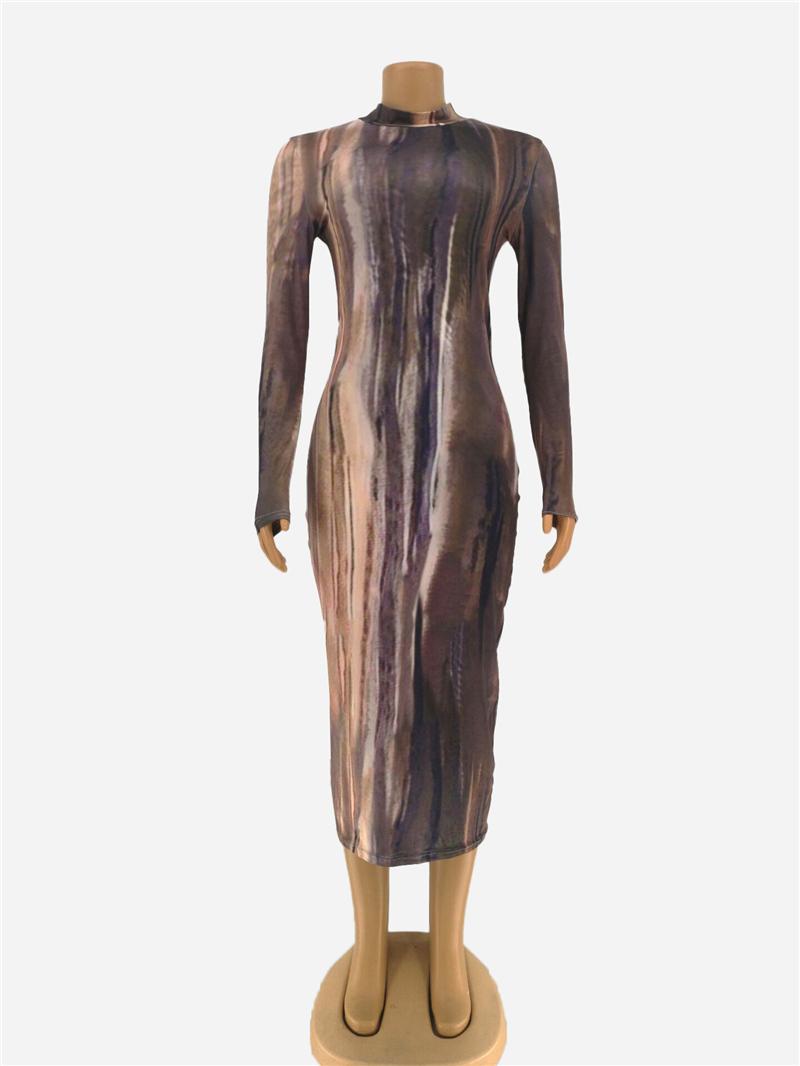 Сексуальное Клубное облегающее платье со змеиным принтом, с длинным рукавом, на молнии, для женщин, лето, осень, для вечеринки, ночные платья,...(Китай)