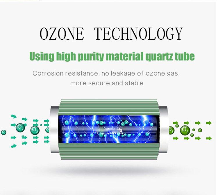6g 콜드 플라즈마 오존 발생기 휴대용 ozonio gerador 물 워크샵 에어 클리너
