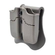 Тактический двойной мешочек Amomax для Beretta PX4 H & K P30 USP Compact - Tan (стандартный только с поясной пластиной)(Китай)