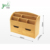 Wholesale 100% Natural Eco-friendly Decoration Bamboo Wall Mounted Letter Rack Storage Box