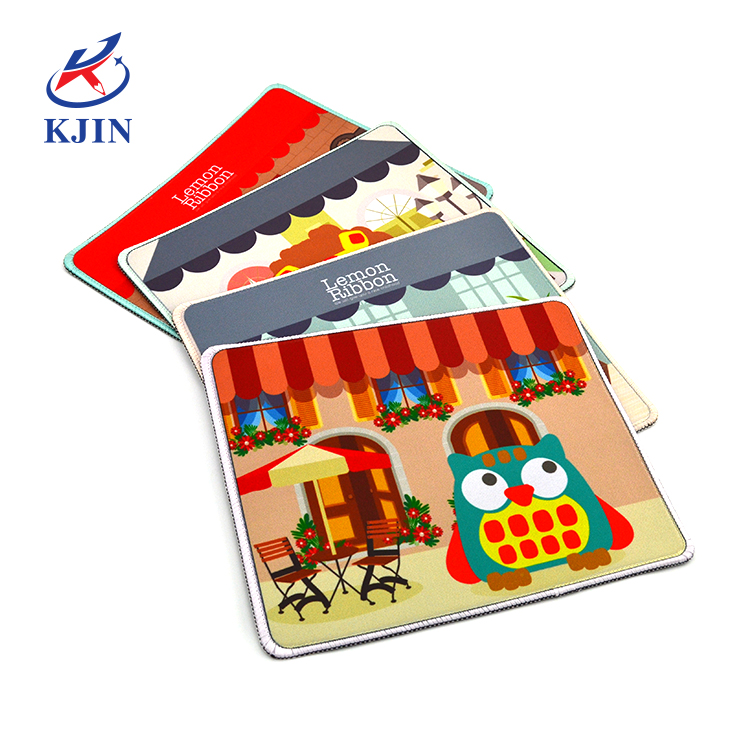High quality hot selling waterproof free sample custom design rubber mouse pad for office