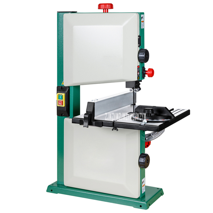 Multifunctional Band Saw Machine H0156 Household Electric Woodworking Band Saw 450W 9 Inch Band Saw 220V 1450r/min (313x302mm)