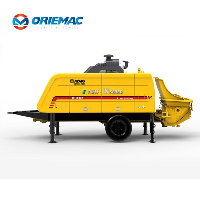 XCMG hot sale mini trailer mounted concrete pump with high quality