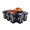 high profit hold 30-40% dallas most popular dragon slayer 10 players gambling fish machine with tiger phoenix dragon features