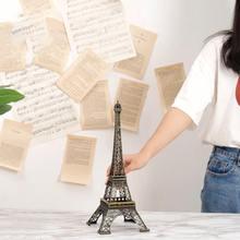 Strongwell 10 см-60 см Металл Эйфелева башня ремесло Модель украшения дома аксессуары винтажный Декор Ретро, антикварная бронза модель(Китай)