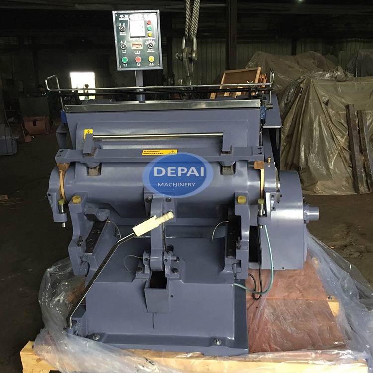 1500 Size Manual Press Cardboard and Plastic Sheet Die Cutting Machine