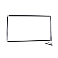 Real 6/10 multi point IR touch,43 inch ir touch screen frame for LCD/TV