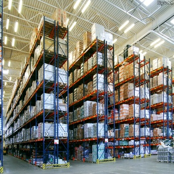Metal Shelving Double Deep Pallet Rack Selective Racks Industrial Racking System