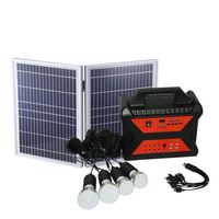 Factory Direct Sale Home USB Portable Lighting Kit Solar Energy Storage Battery System