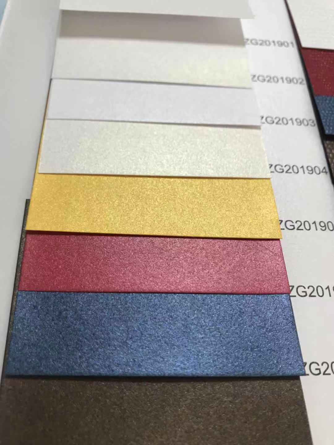 New Hot Sale Products Colored Pearlescent Paper