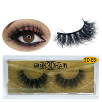 Wholesale customization 2019 New Design Wholesale Own Brand 3D Private Label lashes