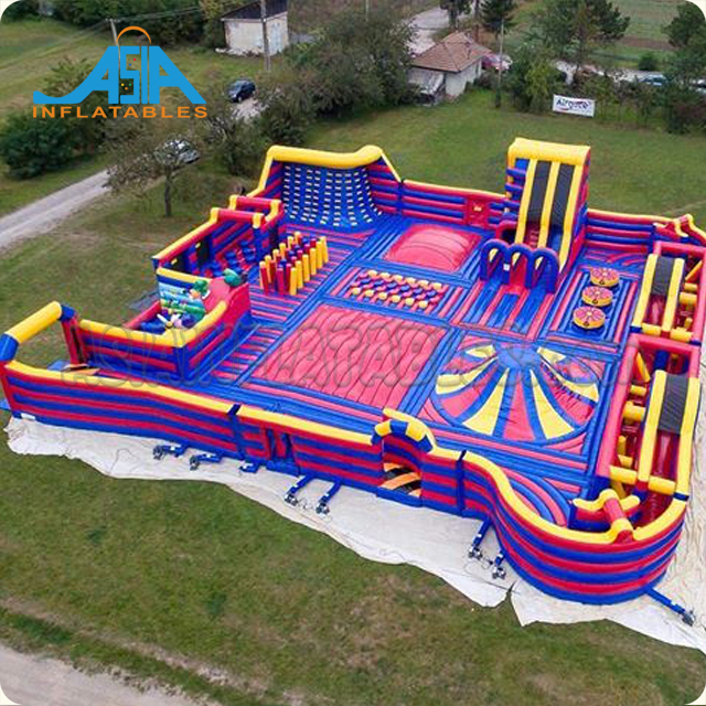 Commercial Inflatable playground for kids, Inflatable trampoline theme park for sale