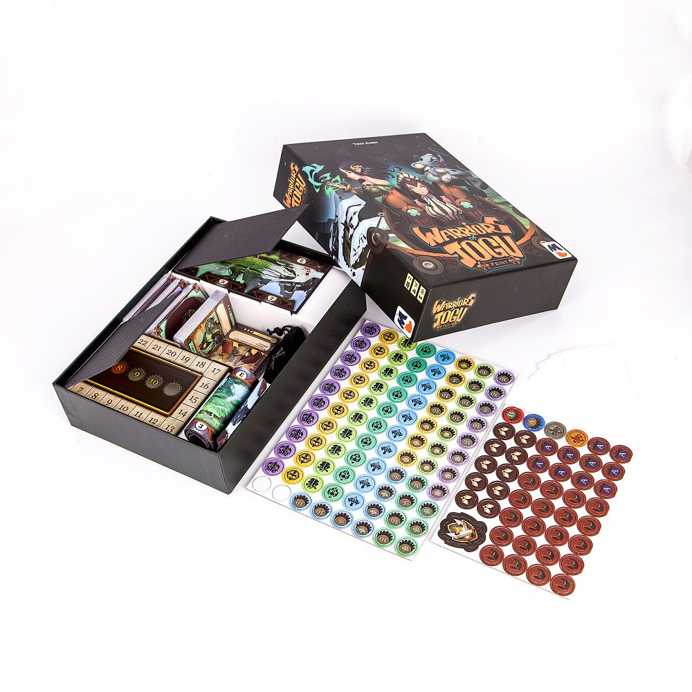 Rvy004 Custom Full Color Printing Paper Indoor Adult trouble Educational Board Game Set