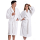 Unisex Terry Cloth Bathrobe- 100% Long Staple Cotton Hotel/Spa Robes - Classic Bath Robes For Men or Women