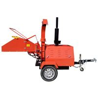 CE approved 18HP-50HP diesel engine wood chips making machine wood chipper