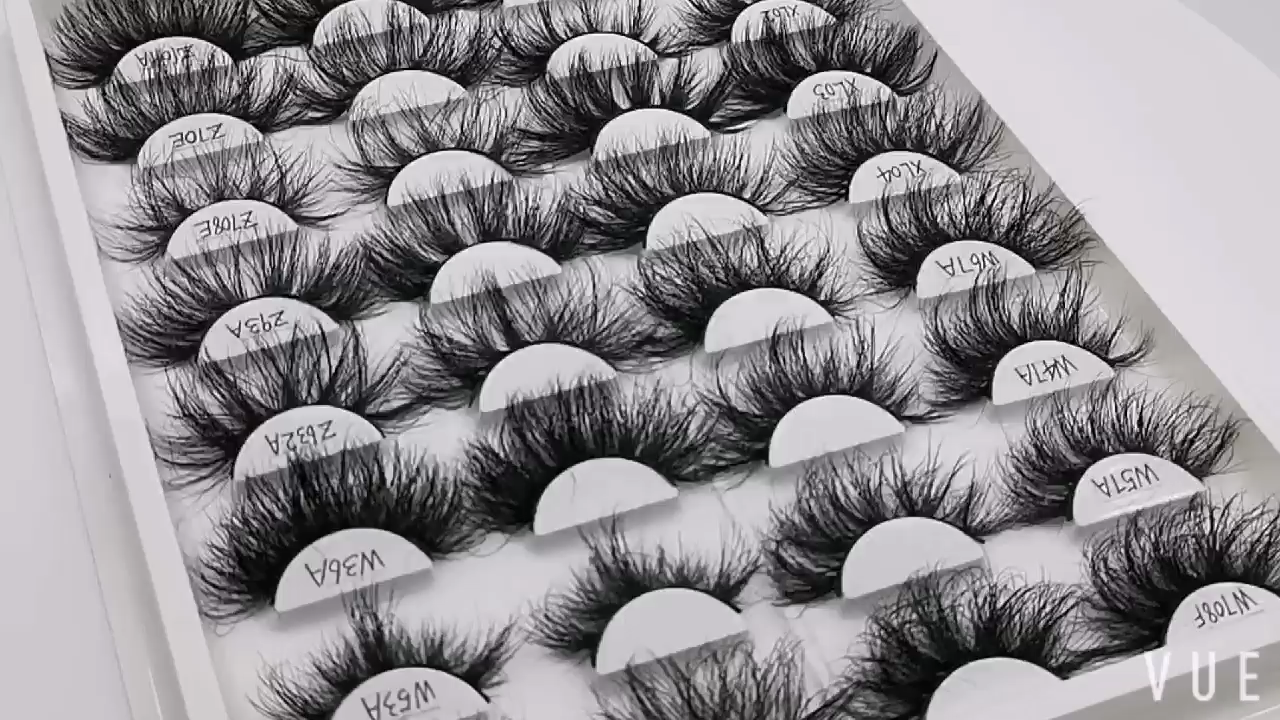 New 3d Bulk Mink Lashes With Custom Mink Lash Packaging Case Wholesale High Quality Luxury 5d 25 mm Mink Eyelashes Private Label