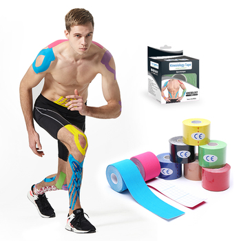 Pre-cut Roll Kinesiology Tape With Individual Box