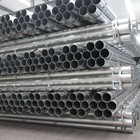 Company List Iron Pipe Iron Steel Company Pipe Price List BS1387 Pre-galvanized Welded Ms Round Pipe