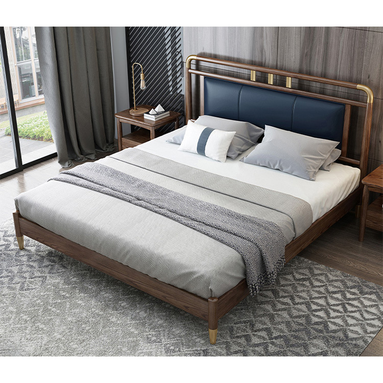 product-Drawer Furniture King Size Room Solid Double Designs Price Simple Wood Bed-BoomDear Wood-img-1