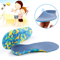 Big promotion children's flat foot correction insole inside and outside eight-character X-legs foot valgus arch pad EVA insole