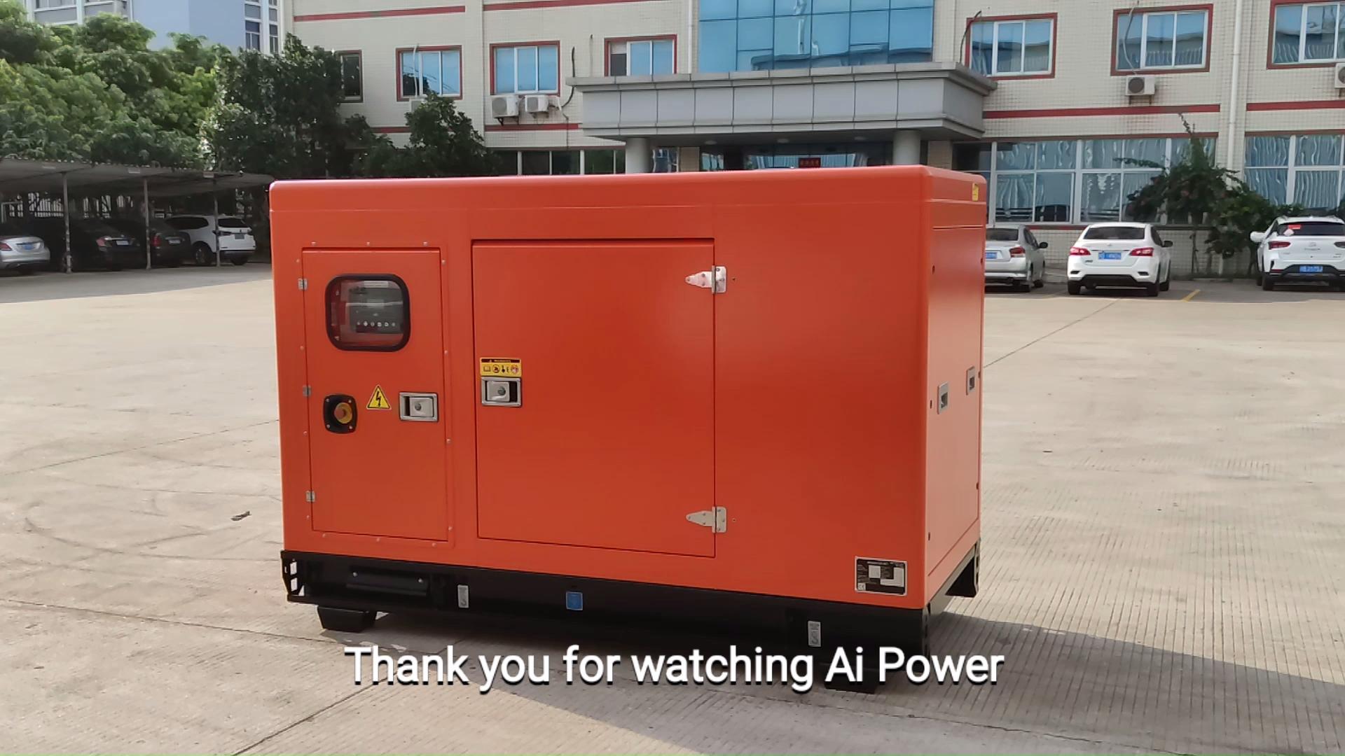 CCS ABS 50kw genset marine diesel generator with heat exchanger