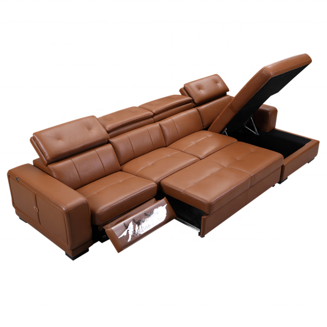 Fold Down Sofa Bed L Shape