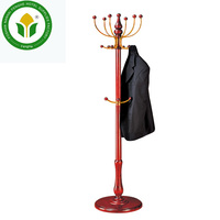 hotel vertical wooden antique clothes tree clothes hanger stand coat racks