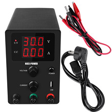 Bagus Power R-SPS3010 Hitam Tekstur Matte 30V 10A Variabel DC Power Supply Laboratorium Bench Power Supply Ponsel Perbaikan dengan USB