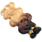 Color Weave 1b 4 27 Ombre Color Grade 12A Virgin Peruvian Cuticle Aligned Hair Weave